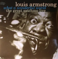 Louis Armstrong - What A Wonderful World: The Great Satchmo Live - 2x Vinyl LP - (VP80720)