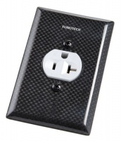 Furutech 103-S Single US Mains Receptacle Cover