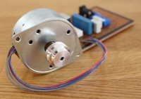 Rega RP3/RP6 Turntable Replacement Motor and PCB