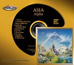 Asia - Alpha SACD Numbered AFZ263