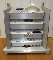 Chord Electronics Blu CD Transport, DAC 64, Prima Stereo Pre-Amplifier, MEZZO 50 Power Amplifier (Silver) Pre Owned