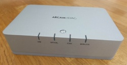 Arcam rDAC Digital to Analogue Converter Silver Pre owned