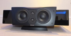 Dynaudio Confidence Centre Platinum Gloss Black Centre Speaker With Stand Ex Demonstration
