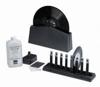 Knosti Disco Antistat Record Cleaning Machine + FREE PACK OF 50 Inner 12'' Antistatic Sleeves worth £15.99