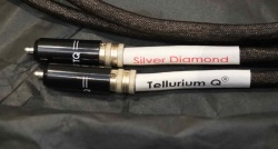 Tellurium Q Silver Diamond RCA Interconnects 1.0m (Pre Owned)