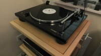 Thorens TD 206 Turntable - Ex Demonstration  - Black - Some Small Minor Marks on Plinth and Front of Lid