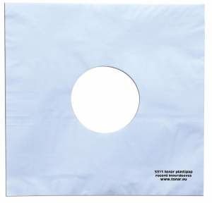 Tonar Plastipap Inner Record Sleeves (Pack of 25)