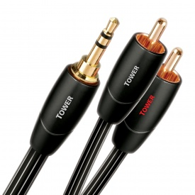AudioQuest Tower 3.5mm Jack-RCA Interconnects