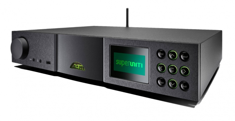 Naim SuperUniti Streaming Amplifier with APTX Bluetooth