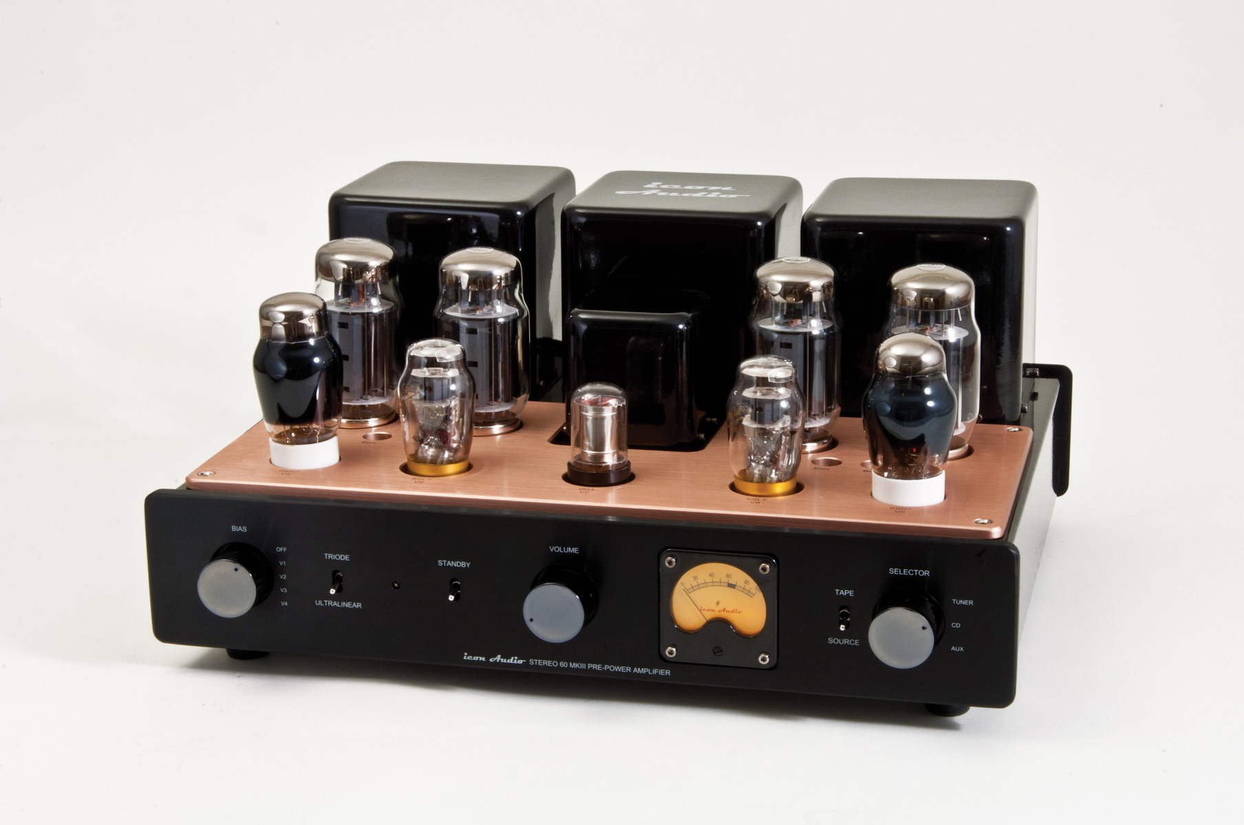 Icon Audio Stereo 60 Mkiii M Integrated Valve Amplifier Power Otl For Cassette Radio Booster It Have Transistor