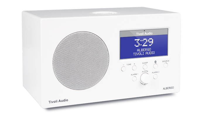 Tivoli Albergo+ DAB/DAB+/FM Clock Radio with Bluetooth