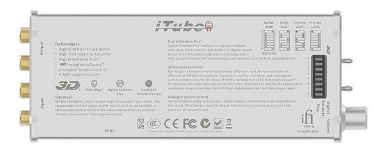 iFi Micro iTube Tube Buffer Stage