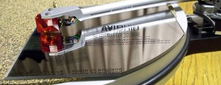AVID High Precision Mirrored Phono Cartridge Alignment Tool (For Linn arms)