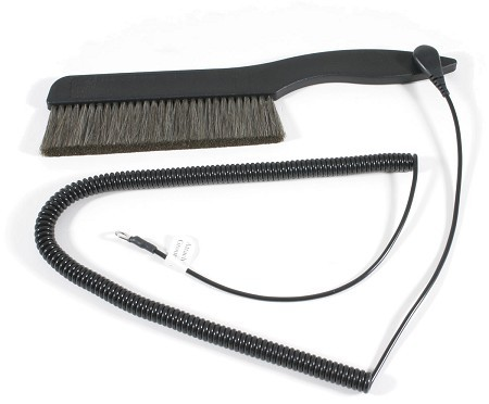 AcousTech  THE BIG RECORD BRUSH (With Grounding Cable)
