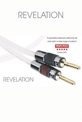 QED Signature Revelation Speaker Cable 1.4m Single Length (un-terminated)