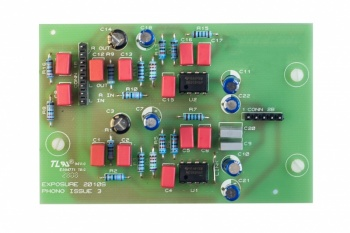 Exposure 2010S2-D Moving Coil Phono Card