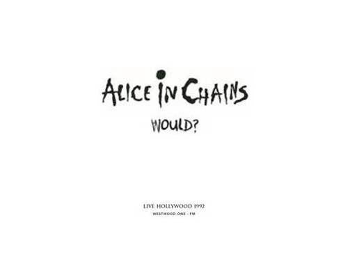 Alice In Chains - Would? Live Hollywood '92 Music CD (BRR6013)