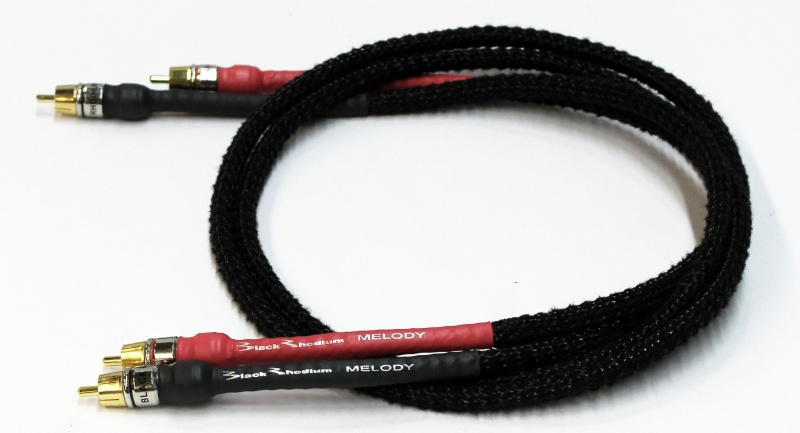Black Rhodium Melody Stereo Interconnects (Pair)