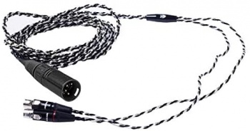 Audeze Black-Silver Premium Headphone Cable for LCD series