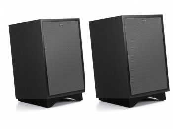 Klipsch Heritage Heresy III Speakers - Special Edition Matte Black Finish