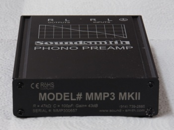Soundsmith MMP-3 MkII Phono Preamp