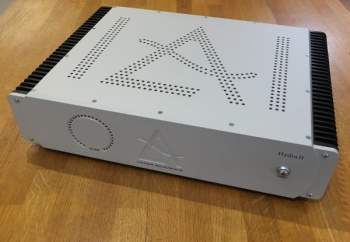 Leema Acoustics Hydra 2  Power Amplifier  Silver Finish  (Pre Owned)