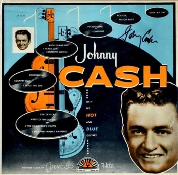 Johnny Cash - With His Hot & And Blue Guitar Vinyl LP RUM2011108LP