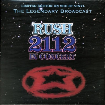 Rush - 2112 In Concert Ltd Edition Violet Vinyl VINYL LP STBVNY002