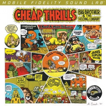 Big Brother & The Holding Company Ft Janis Joplin - Cheap Thrills CD UDSACD2172
