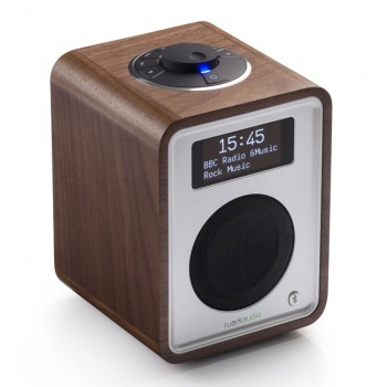 Ruark Audio R1 MkIII Deluxe Tabletop DAB Radio (Walnut) B Grade . Damaged Packaging