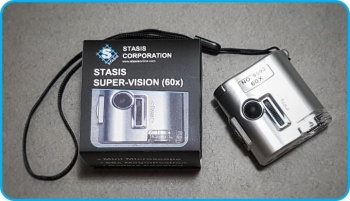 Stasis Corporation- Super-Vision (60x – 300x) Mini Microscope (For Stylus inspection)
