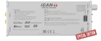 iFi Micro iCAN Headphone Amplifier Special Edition
