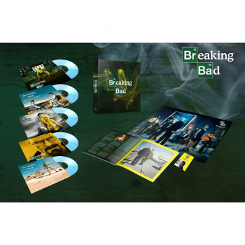 Breaking Bad- Original Series Music Limited Edition 5x10'' Boxset On Alburquerque Crystal Vinyl LP MOVATM235