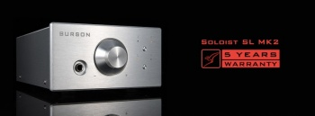 Burson Audio Soloist SL MKII Headphone Amplifier