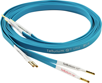 Tellurium Q Ultra Blue Speaker Cable Terminated With Z Banana Plugs