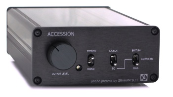 Graham Slee Accession Moving Magnet Phono Stage (Including PSU1)