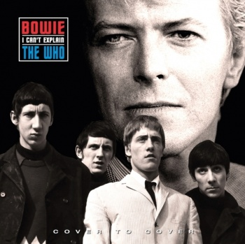 David Bowie and The Who - I Can't Explain  (Limited Numbered Edition 7'' Red Vinyl LP) COVER5
