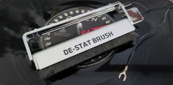 Analogue Studio De-Stat Anti-static Record Cleaning Brush (With Grounding Cable)