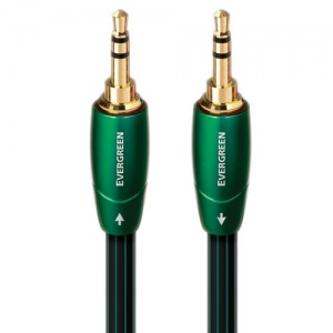 AudioQuest Evergreen 3.5mm to 3.5mm Male Interconnects