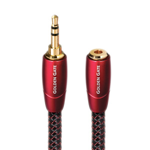 AudioQuest Golden Gate 3.5mm Mini to 3.5mm Female Interconnects