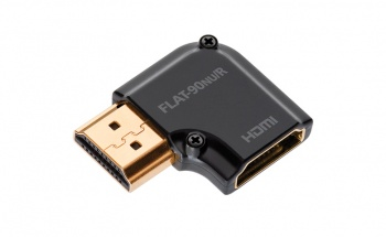 AudioQuest Flat Right-Angled 90 Degree R HDMI Adapter (HDMI 90 NU/R)