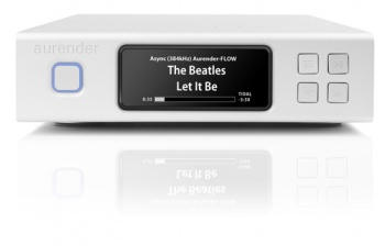 Aurender N100H Music Server/Streamer - 2TB - Silver - Ex Display