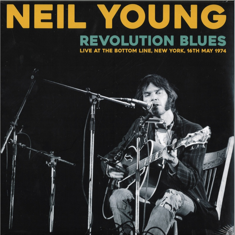 neil young revolution blues live at bottom line ny 16th may 1974 vinyl lp wlvr019. Black Bedroom Furniture Sets. Home Design Ideas