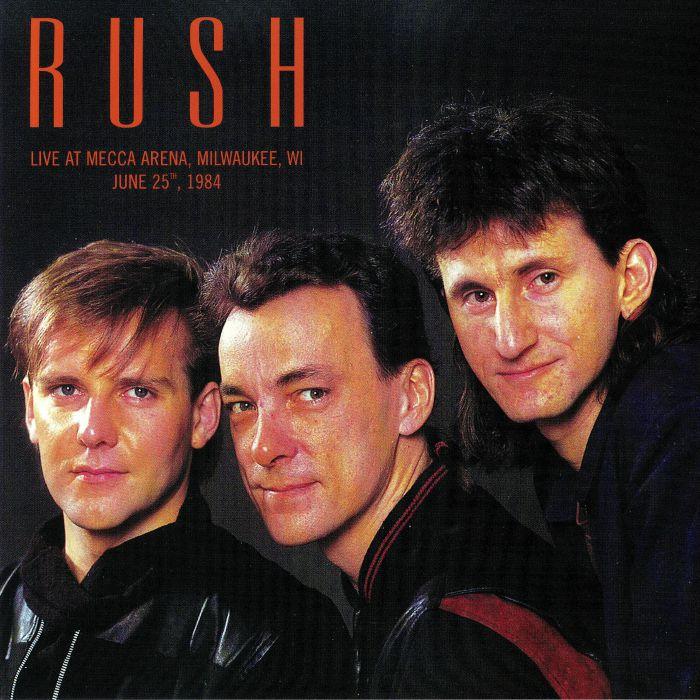 Rush- Live At Mecca Arena Milwaukee WI June 25TH 1984 2x Vinyl LP DBQP09
