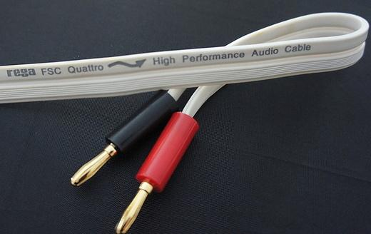 Rega FSC Quattro Single Wire Speaker Cable (Terminated)