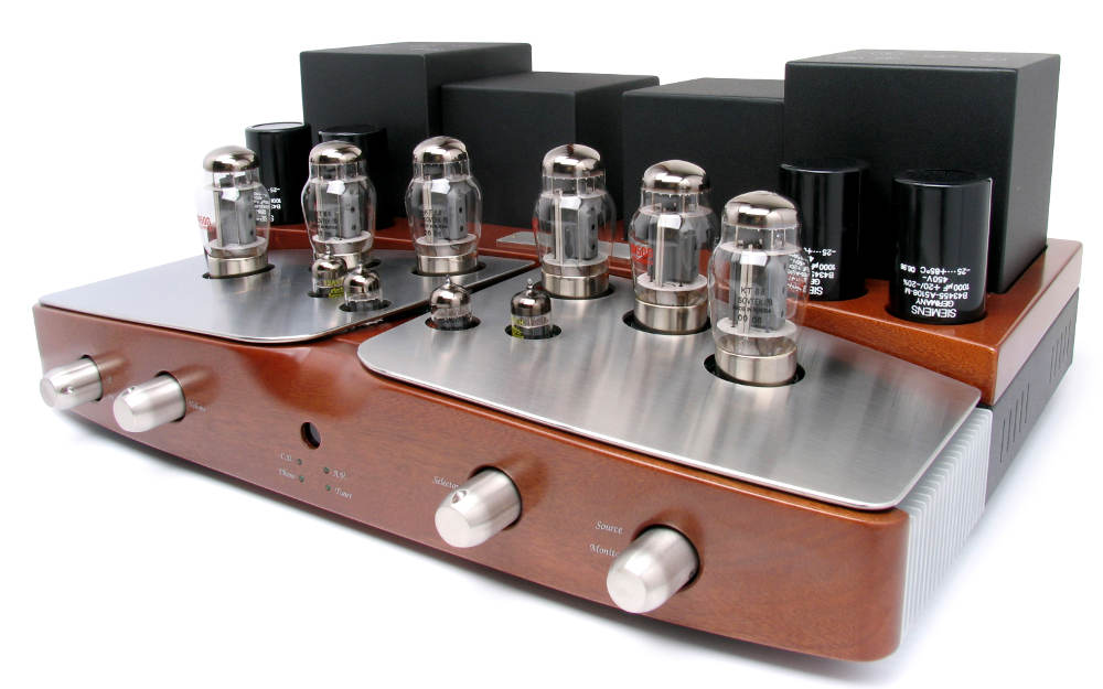 Unison Research Performance Integrated Amplifier - Cherry - Brand New -  Sale!