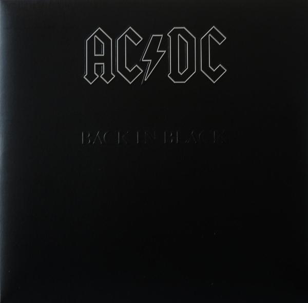 Ac Dc Back In Black 180g Vinyl Lp 5107651