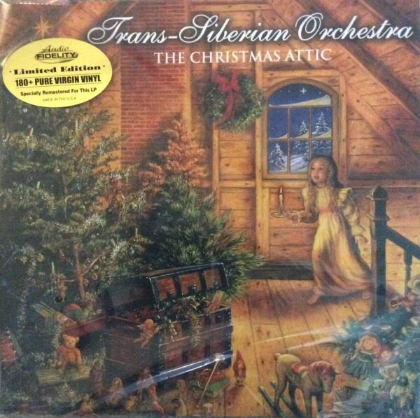 Trans Siberian Orchestra The Christmas Attic 2x Vinyl Lp