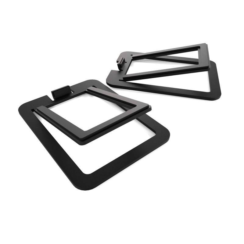 kanto audio s2 desk top speaker stands pair. Black Bedroom Furniture Sets. Home Design Ideas