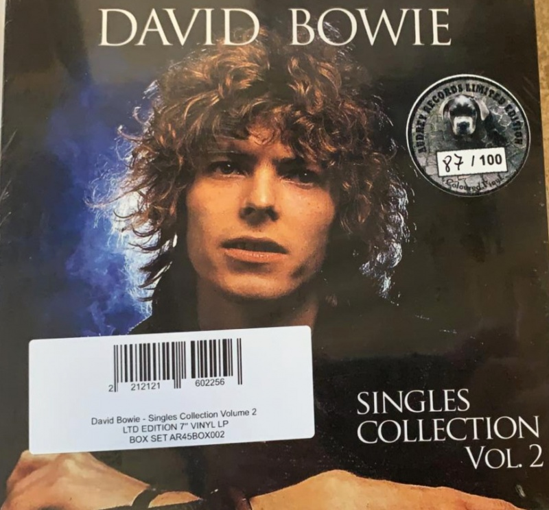 David Bowie Singles Collection Volume 2 Ltd Edition 7 Vinyl Lp Box Set Ar45box002 Analogue Seduction
